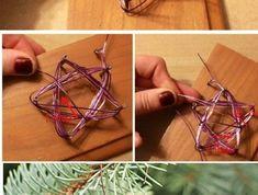 weihnachtendekoration-selber-machen-weihnachtsdeko-selber-machen-sterne