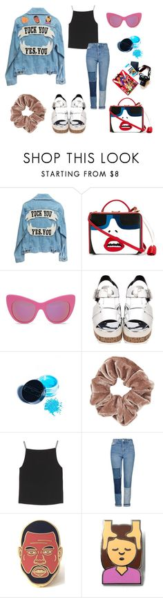 """hoax"" by lalaloveamanda11 ❤ liked on Polyvore featuring Mark Cross, STELLA McCARTNEY, Manic Panic NYC, Topshop, T By Alexander Wang and PINTRILL"