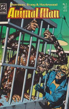 AnimalMan Issue #3 By Grant Morrison