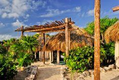Papaya Playa hotel - Rustic but beautiful. Belize, Mexico.