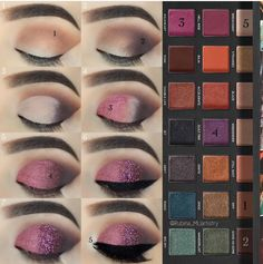 Urban decay born to run palette make up palette Purple Smokey Eye, Smoky Eyes, Hooded Eye Makeup, Eye Makeup Tips, Makeup Ideas, Hooded Eyes, Urban Decay Palette, Make Up Palette, Make Up Gesicht