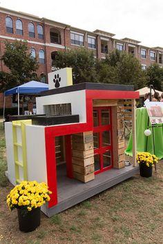 Modern doghouse | Barkitecture 2013