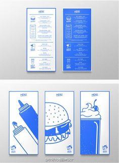 高逼格菜单版式设计。灵感福利! 来自你好大海品牌设计 - 微博