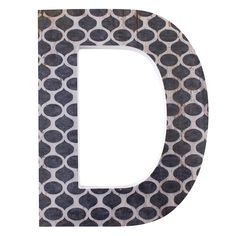 Wholesale 'd' wall plaque - Something Different