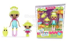 Lalaloopsy Mini Littles Doll, Pix E. Flutters/Twinkle N. Flutters Hold the cuteness of Lalaloopsy Littles in the palm of your hand. Mini Lalaloopsy Littles each come with their older sibling and an adorable pet. - To order: http://www.shopaholic.com.ph/new.html#!/Lalaloopsy-Mini-Littles-Doll-Pix-E-Flutters-Twinkle-N-Flutters/p/48430678/category=6966429