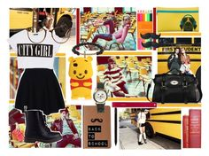 """""""Back to School 2013"""" by annucia2bcorse ❤ liked on Polyvore featuring Steve Madden, Dsquared2, Forever 21, Theory, Dr. Martens, Luis Morais, Wet Seal, FC Select Vegan Bags, Fiskars and BackToSchool"""