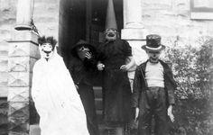 the-absolute-best-posts:  Creepy Halloween Kids c. 1920s-1950s