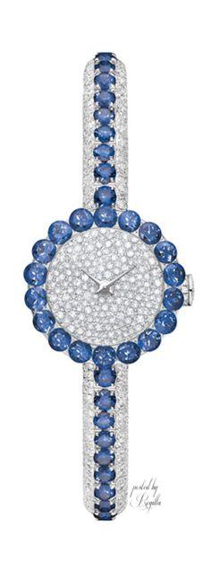 Rosamaria G Frangini   High Jewellery Watches    My Deep Blue Jewellery   Regilla ⚜ Dior