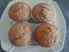 Heart-healthy meals: Whole Wheat Honey banana Muffins- Breakfast256