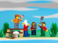 50 states of LEGO: plastic stereotypes