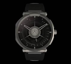 The Silver Arrow Concept watch controls access to your Mercedes-Benz