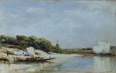 Река Сура. Полдень. 1874 - Боголюбов Алексей Петрович
