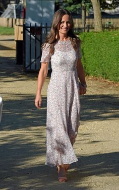 Pippa Middleton wearing L.K Bennett