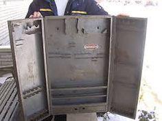 Image result for 1950's Mechanics Toolbox Mechanic Tool Box, Vintage Display, Toolbox, Benches, Lockers, Locker Storage, 1950s, Metal, Image