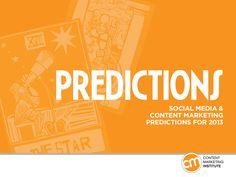 content-marketing-predictions-2013-15728618 by Global Copywriting via Slideshare