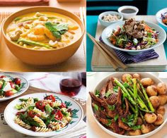 Five day dinner meal plan recipes: nutritious