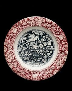 Plate | J.& M.P.Bell & Co. Ltd | Glasgow, Scotland (made), circa 1887