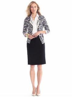 Banana outfit. Particularly like the cheetah print cardigan.
