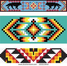 Native American Background Patterns
