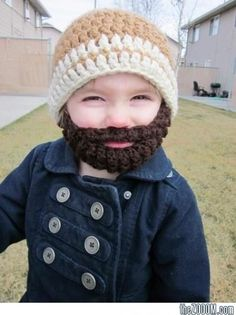 If I could knit/crochet, and I had children, they would all have one of these...HAHA