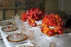 A citrus themed party