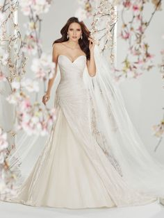Style Y11401 (Cersei) wedding dress • The amazing Sophia Tolli collection for spring 2014 is full of sparkling, sexy gowns
