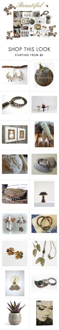 Beautiful by therusticpelican on Polyvore featuring iCanvas, CAVO, modern, contemporary, rustic and vintage