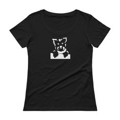 Check it out: https://itsayorkielife.com/product/bailey-the-yorkie-ladies-scoopneck-t-shirt/