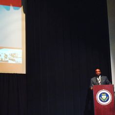 #CCAC President Dr. Quintin Bullock (@QBpresCCAC) delivers the welcome and opening remarks at #CCAC All College Day.