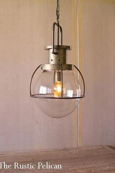 Cage Pendant Light, Rustic Pendant Lighting, Vintage Industrial Lighting, Pendant Light Fixtures, Chandelier Pendant Lights, Modern Chandelier, Chandeliers, Modern Lighting, Lighting Ideas