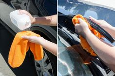 Clean wiper blades with rubbing alcohol to prevent smears on your windshield.