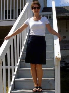 So Sew Easy - draw your own pencil skirt sloper - it's so easy!