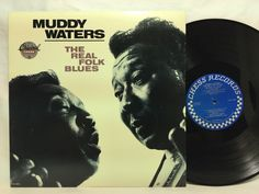 Muddy Waters The Real Folk Blues LP Vinyl Record The Original Chess Masters