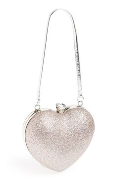 6f13f8a6bd Capelli of New York Glitter Heart Box Clutch (Girls) available at  #Nordstrom Glitter