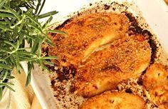 Máslovo - česnekové kuřecí řízky
