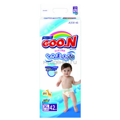 Подгузники Goon Econom 12-20 кг (42 шт) Размер BIG