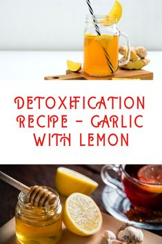 A strong combination of garlic, lemon and water, a recipe for health and easy preparation, that lowers your cholesterol and keeps your heart healthy.
