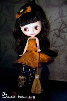Halloween outfit for Blythe
