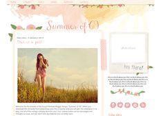 Summer of '69 Blogger Template