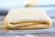 Mix Butter into the Dough - How to Make Croissants: A Detailed Guide with Pics and Video - EnkiVillage