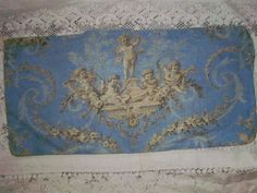 ANTIQUE FRENCH CHATEAU FABRIC!!!!!!!!!!!!!!!