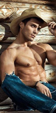Hott naked straight rodeo guys