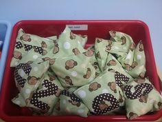 Bean Bags for Indoor Recess Movement Activities! :)