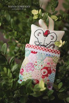 Not Even a Mouse embroidery pattern PDF por nanacompany en Etsy