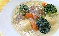 Cream Stew with Chicken