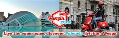 Empresa de alquiler de motos Vespa
