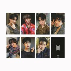 Set of lomo card - BTS Army Bomb high-quality album photo cards. Must-have cards for true ARMY fans! Foto Bts, Bts Photo, Bts Girl, Bts Boys, Bts Polaroid, Polaroids, Bts Tickets, Lomo Card, Bts Army Bomb