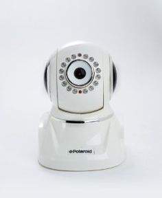 Polaroid IP300W wireless IP Network Security Camera, Pan and Tilt, IR-cut Filter, White by Polaroid. $99.99. Fast Set-Up, Fun and Easy to Use.    Real-time Audio & Video Streaming, Multimedia Recording, and Still Image Capture.    Automatic Night-Vision for Seamless Day/Night Use.    Advanced IR-Filter Camera Lens Makes the IP300W Ideal for All Lighting Scenarios.    Completely Integrated 2-way Audio Speaker Intercom Makes this Live Video Camera Interactive, Very Versatile,...