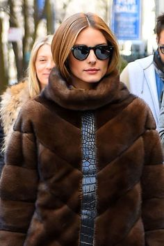 Olivia Palermo's chin-length crop. See it and 9 other pretty celebrity spring beauty looks worth trying.