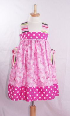 Little Girls Dress. REALLY LIKE THIS FOR HOT WEATHER.
